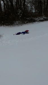 Then she made snow Angels